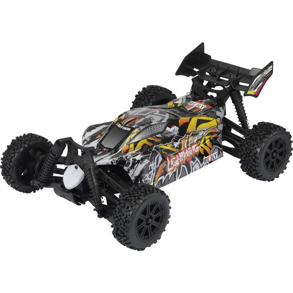 Reely Lightning s ščetkami 1:10 RC Avtomobilski model za začetnike Elektro Buggy Pogon na vsa kolesa (4WD) 100% RtR 2,4 GHz Vklj