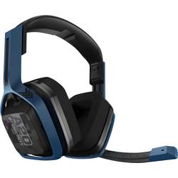 Astro A20 Wireless Call Of Duty Igralni naglavni komplet 5-GHz radijski oddajnik, USB Over Ear Mornarsko modra