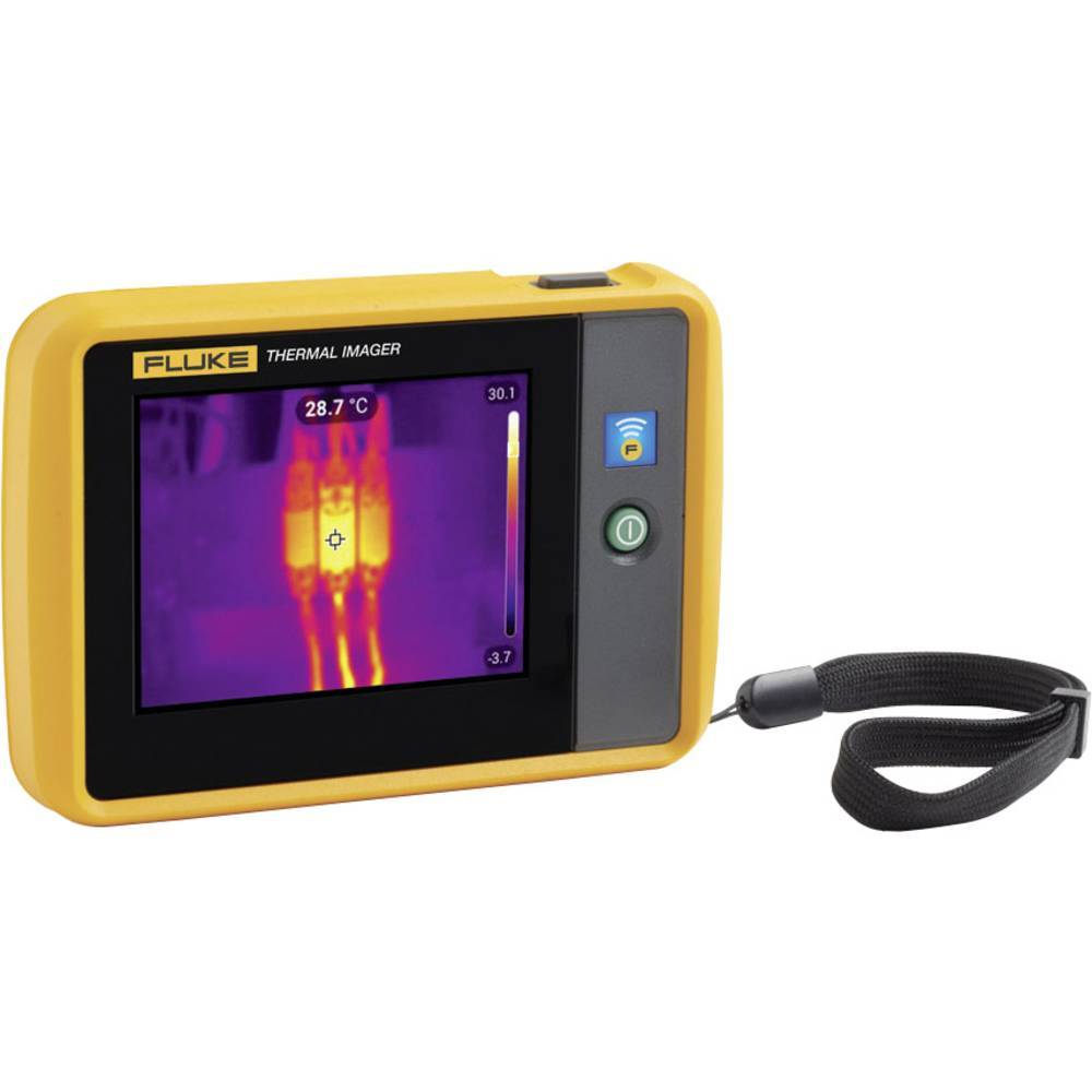 Fluke FLK-PTI120 9HZ toplotna kamera Kalibrirano ISO -20 do 150 °C 120 x 90 piksel 9 Hz fluke povezava, wifi