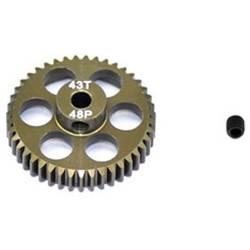 zobnik motorja ArrowMax Vrsta modula: 48 DP Premer vrtanja: 3.175 mm Število zob: 43
