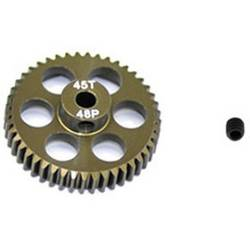 zobnik motorja ArrowMax Vrsta modula: 48 DP Premer vrtanja: 3.175 mm Število zob: 45