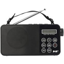 Reflexion TRA2350DAB prenosni radio DAB+, UKW črna