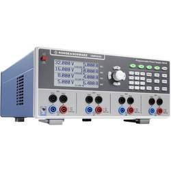 Laboratorijsko napajanje, podesivo Rohde & Schwarz HMP4040 32 V (max.) 10 A (max.) 384 W USB, LAN Daljinsko kontrolirano, Progra