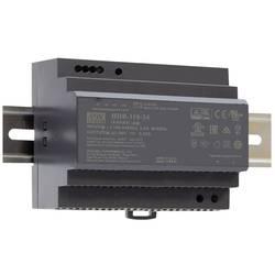 Mean Well HDR-150-24 DIN-napajanje (DIN-letva) 24 V/DC 150 W 1 x