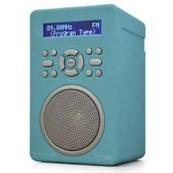 DAB+ (1012) Stolni radio Denver 43 AUX, UKW, DAB+ Tirkizna