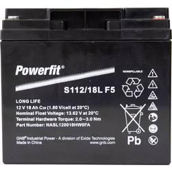 GNB Powerfit Powerfit S112/18L F5 S112/18LF5 svinčeni akumulator 12 V 18 Ah svinčevo-koprenast (Š x V x G) 181.5 x 167.5 x 77 mm