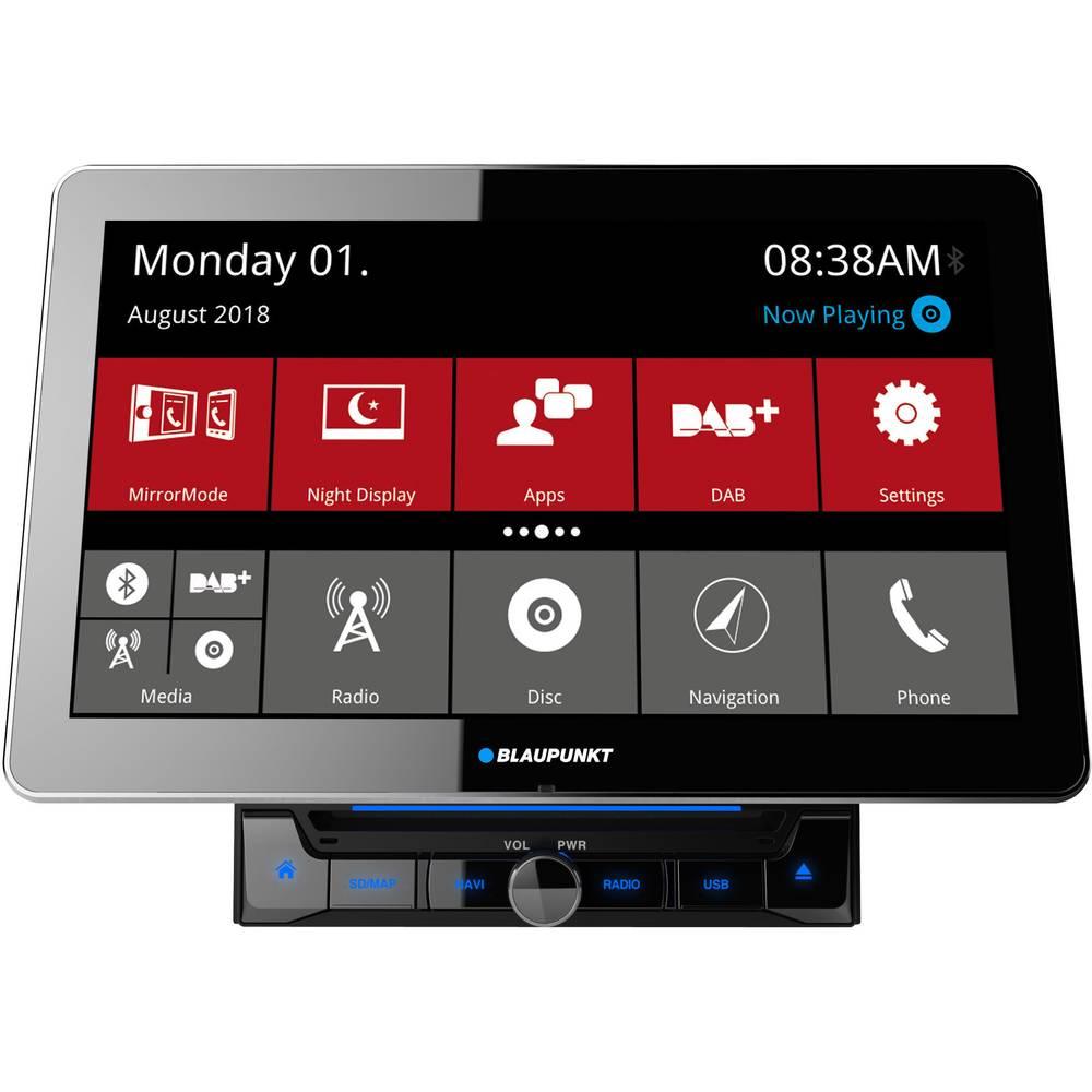 Blaupunkt Rome 990 DAB Dvojni DIN multimedijski predvajalnik DAB + Radijski sprejemnik, Bluetooth® komplet za prostoročno te