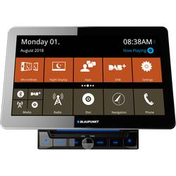 Blaupunkt Rome 990 DAB NAV CAR Dvojni DIN multimedijski predvajalnik DAB + Radijski sprejemnik, Bluetooth® komplet za prosto