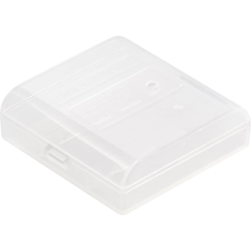 Basetech BT-Box-003 baterijska škatla 4xmicro (aaa), 104440 (D x Š x V) 48.2 x 49.5 x 14.8 mm