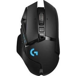 Logitech G502 Lightspeed bežični igraći miš optički osvjetljen, podešavanje težine, integrirana profilna memorija crna