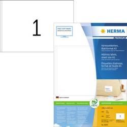 Herma 8690 Etikete 148.5 x 205 mm Papir Bijela 400 ST Naljepnice za adrese, Univerzalne naljepnice Tinta, Laser, Kopija