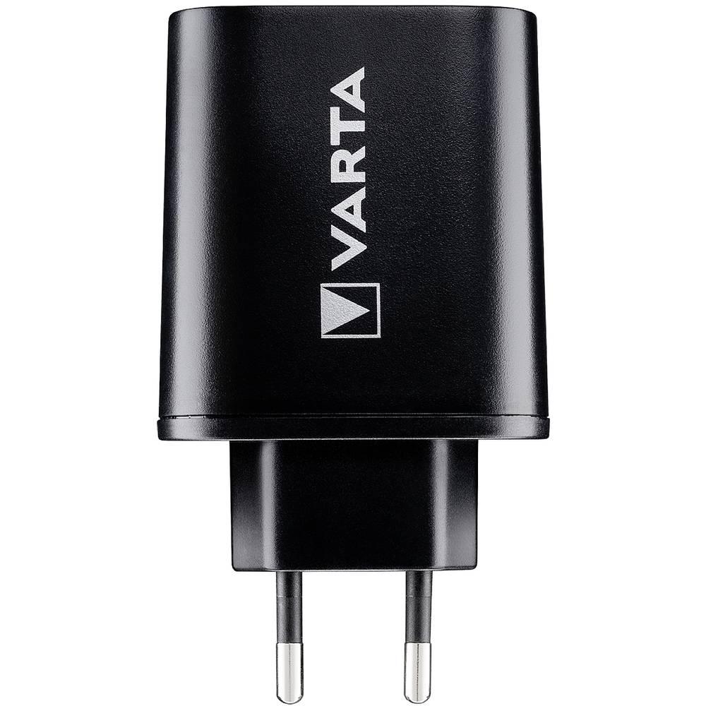 Varta Wall-USB-C 57958 USB napajalnik Vtičnica Izhodni tok maks. 5400 mA 3 x USB, Ženski konektor USB-C™