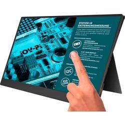 Joy-it Joy-View 15 monitor z zaslonom na dotik EEK: A+ (A++ - E) 39.6 cm(15.6 palec)1920 x 1080 piksel 16:9 USB-C™ , mini