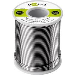 Goobay spajkalna žica, neosvinčena neosvinčeni, tuljava Sn99.3Cu0.7 500 1.5 mm