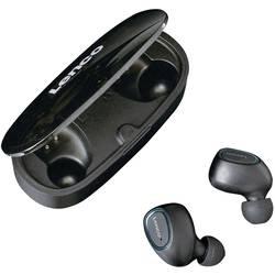 Lenco EPB-410BL True Wireless In Ear Naglavni komplet, Zaščita pred znojenjem, Vodoodporne Črna