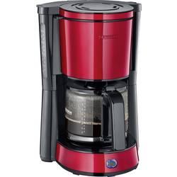 aparat za kavu Severin KA 4817 crvena (metalna), crna Kapacitet čaše=10