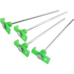 Klin za šator Fluorescentan cartrend Zeltheringe 24 cm 6 St,fluoreszierend 10391 1 ST