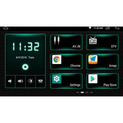 Phonocar VM001E Dvojni DIN multimedijski predvajalnik Bluetooth® komplet za prostoročno telefoniranje
