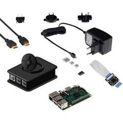 Raspberry Pi® 3 B+ Camera Set 1 GB 4 x 1.4 GHz uklj. modul kamere, Uklj. napajanje, uklj. kućište, uklj. hladnjak, uklj. HDM