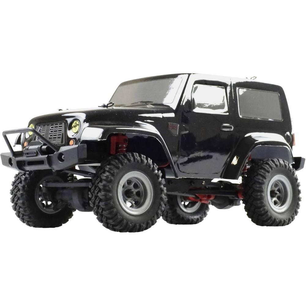 Amewi AM24 Ranger s ščetkami 1:24 RC Modeli avtomobilov Elektro Crawler Pogon na vsa kolesa (4WD) RtR 2,4 GHz Vklj. akumulator i