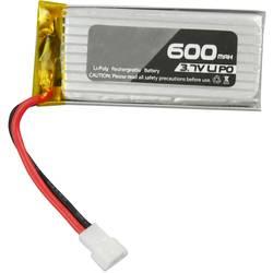 Amewi LiPo akumulatorski paket za modele 3.7 V 600 mAh Število celic: 1 20 C Mehka torba Molex priključni sistem