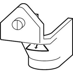 Poklopac priključka, 1-polni, za P5-125, P5-160 H-P5-125/160 Eaton 1 St.