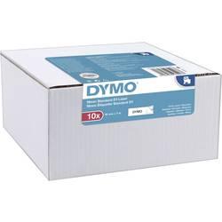 DYMO 2093096 Pisalni trak 10-delni komplet Barva traku: Bela Barva pisave: Črna 9 mm 7 m