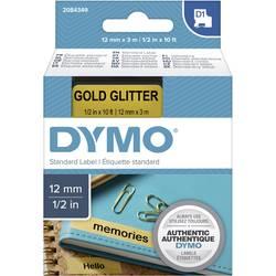 Pisalni trak DYMO D1 2084349 Barva traku: Zlata Barva pisave:Črna 12 mm 3 m