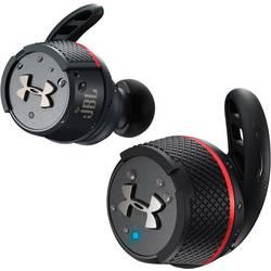 JBL Under Armour Flash True Wireless Športne In Ear slušalke In Ear Zaščita pred znojenjem, Nadzor z dotikom, Vodoodporne Črna