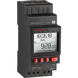 Müller SC18.10 easy, 12 V ACDC din časovna stikalna ura digitalno 12 V/DC, 12 V/AC 16 A/250 V