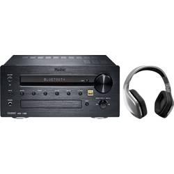 Magnat MC 100 Bundle stereo sprejemnik 2x35 W črna bluetooth®, dab+, avdio z visoko ločljivostjo, usb, wlan