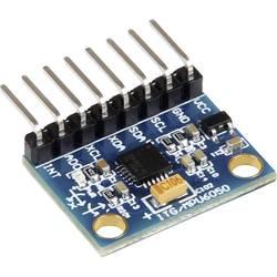 Joy-it MPU6050 Senzor ubrzanja 1 ST Pogodno za: micro:bit, Arduino, Raspberry Pi, Rock Pi, Banana Pi, C-Control, Calliope
