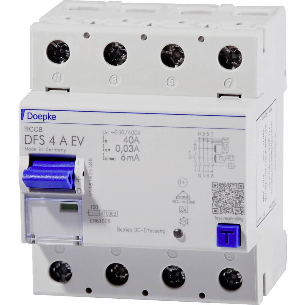 Doepke 09134818 Kvar struje-sigurnosni prekidač 4-polni 40 A 0.03 A 400 V