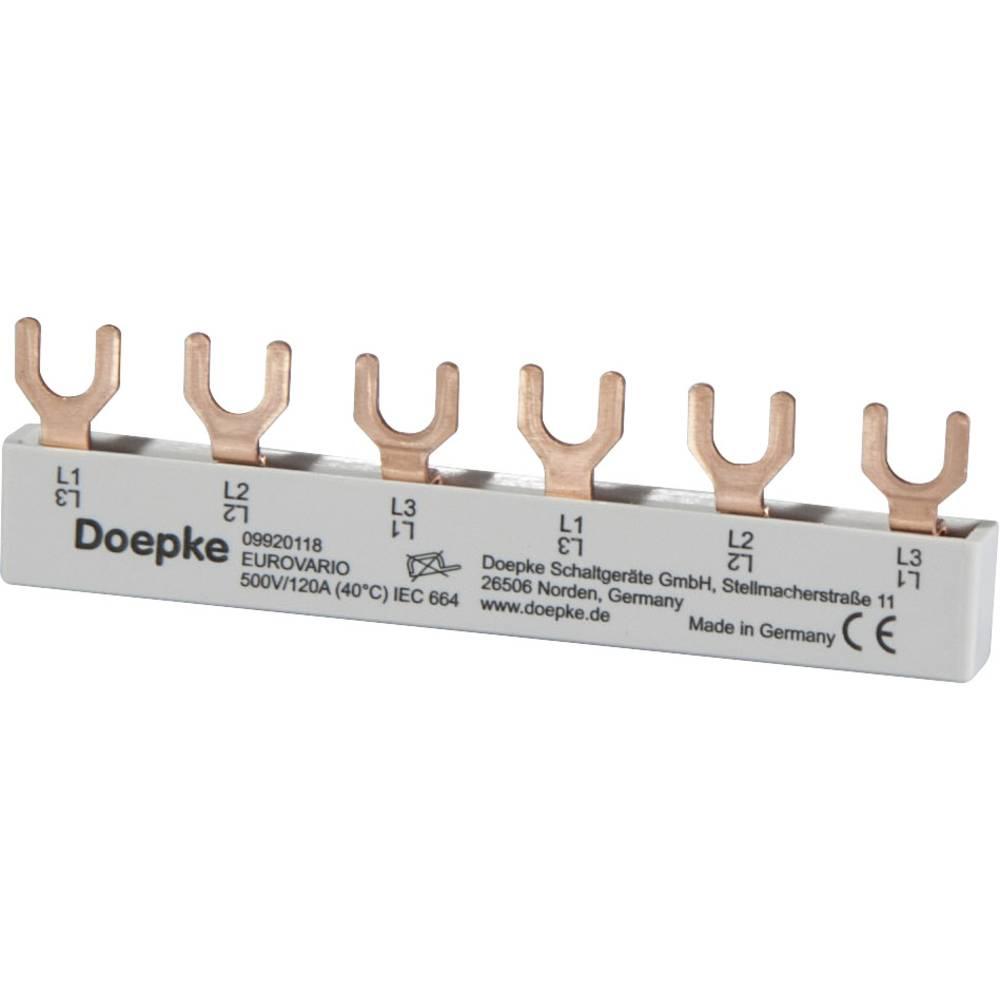Fazna šina 10 mm² 63 A 690 V Doepke 09920118