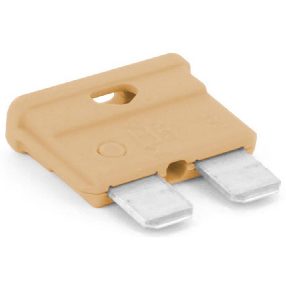 TRU COMPONENTS 8551180 standardna ploščata varovalka za avtomobil 5 A svetlo rjava 1 KOS