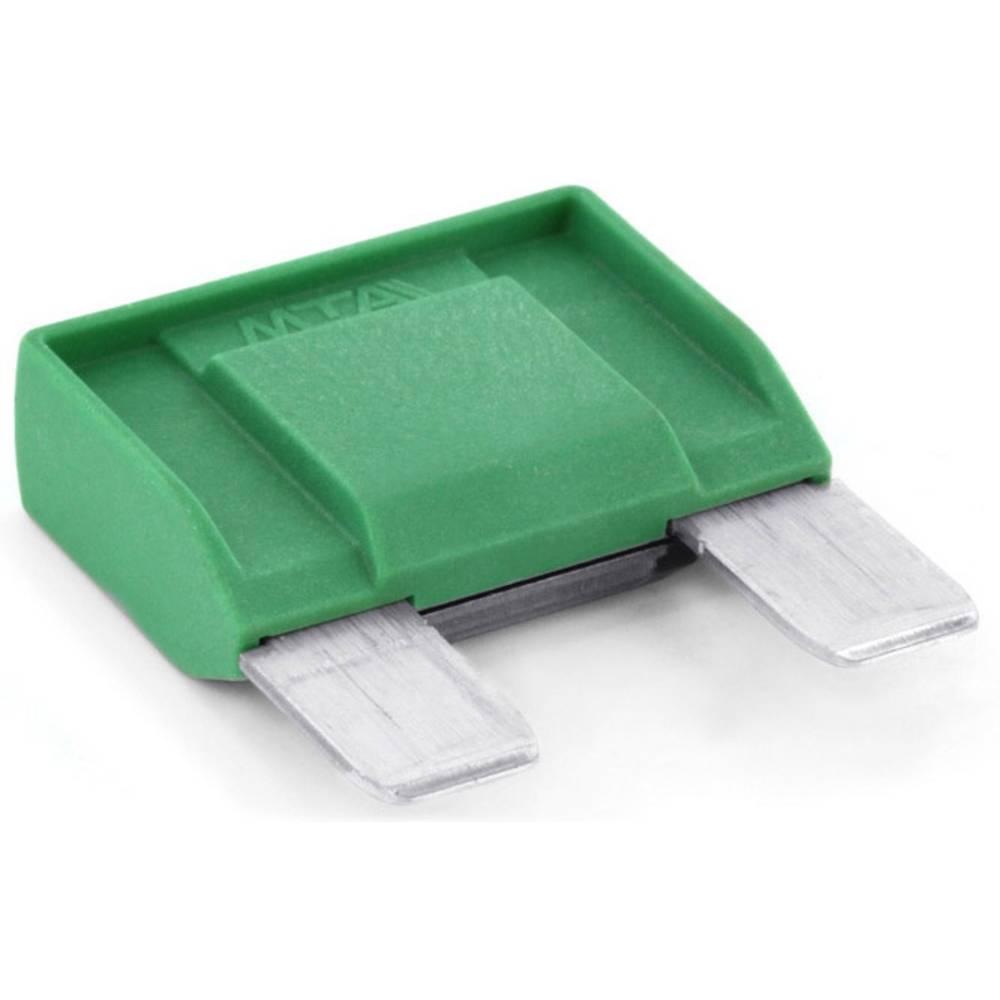 TRU COMPONENTS 8551196 maksi ploščata varovalka 30 A zelena 1 kos