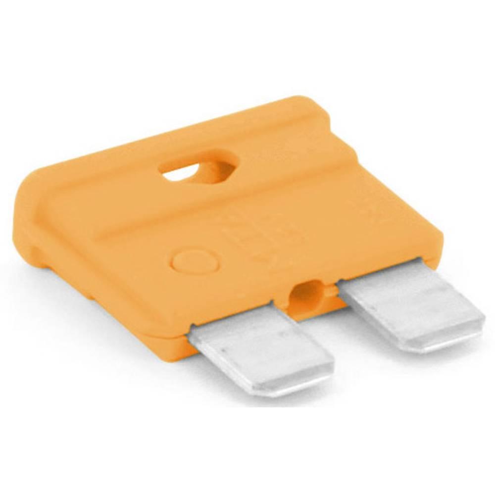 TRU COMPONENTS 8551220 Standardna ploščata varovalka za avtomobil 40 A Oranžna 1 KOS