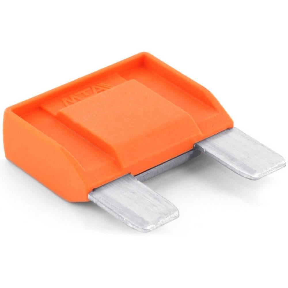 TRU COMPONENTS 8551232 maksi ploščata varovalka 40 A oranžna 1 kos