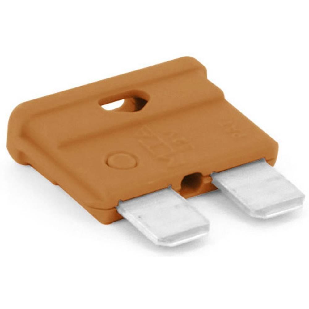 TRU COMPONENTS 8551240 standardna ploščata varovalka za avtomobil 7.5 A rjava 1 kos