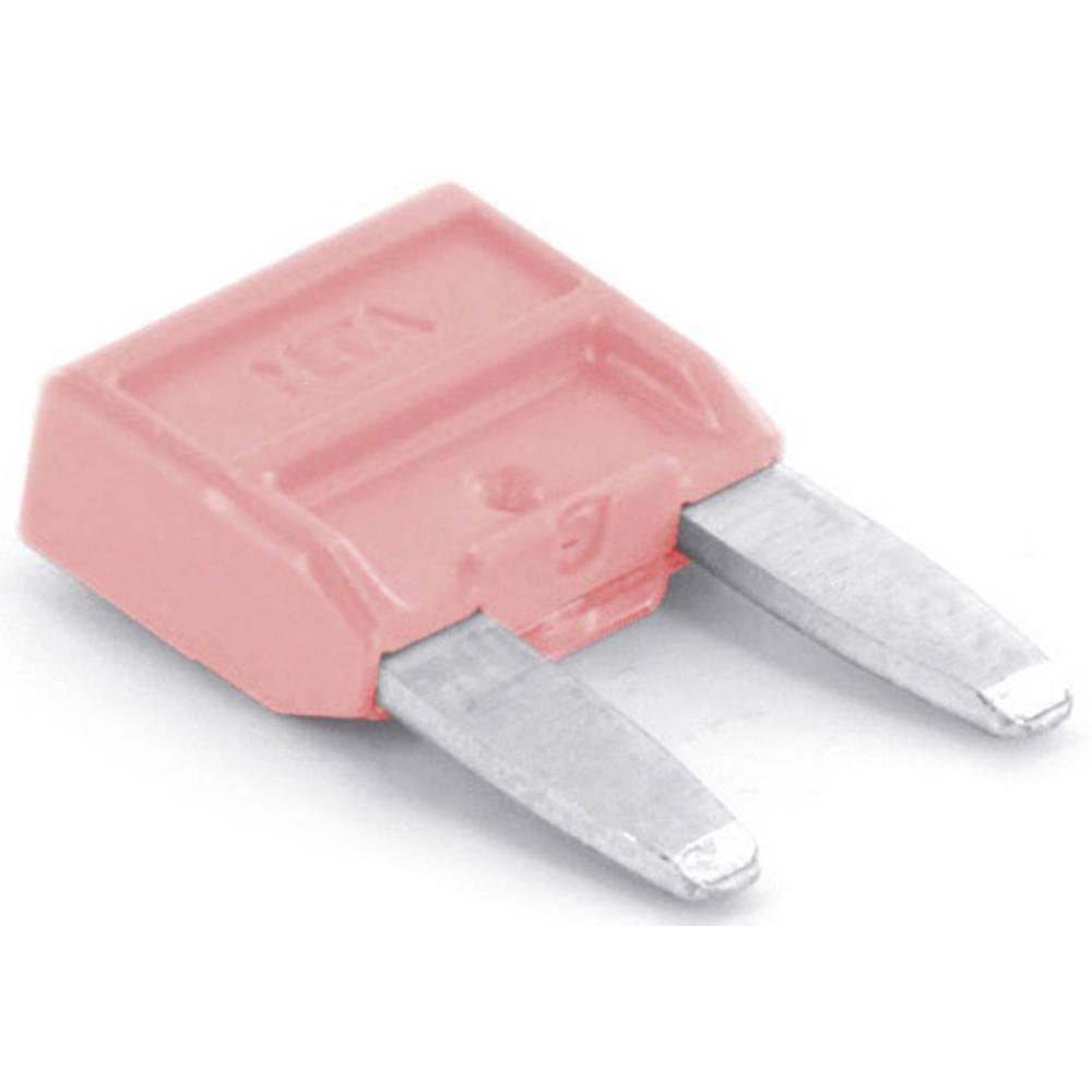 TRU COMPONENTS 8551256 mini ploščata varovalka za avtomobil 4 A roza 1 kos