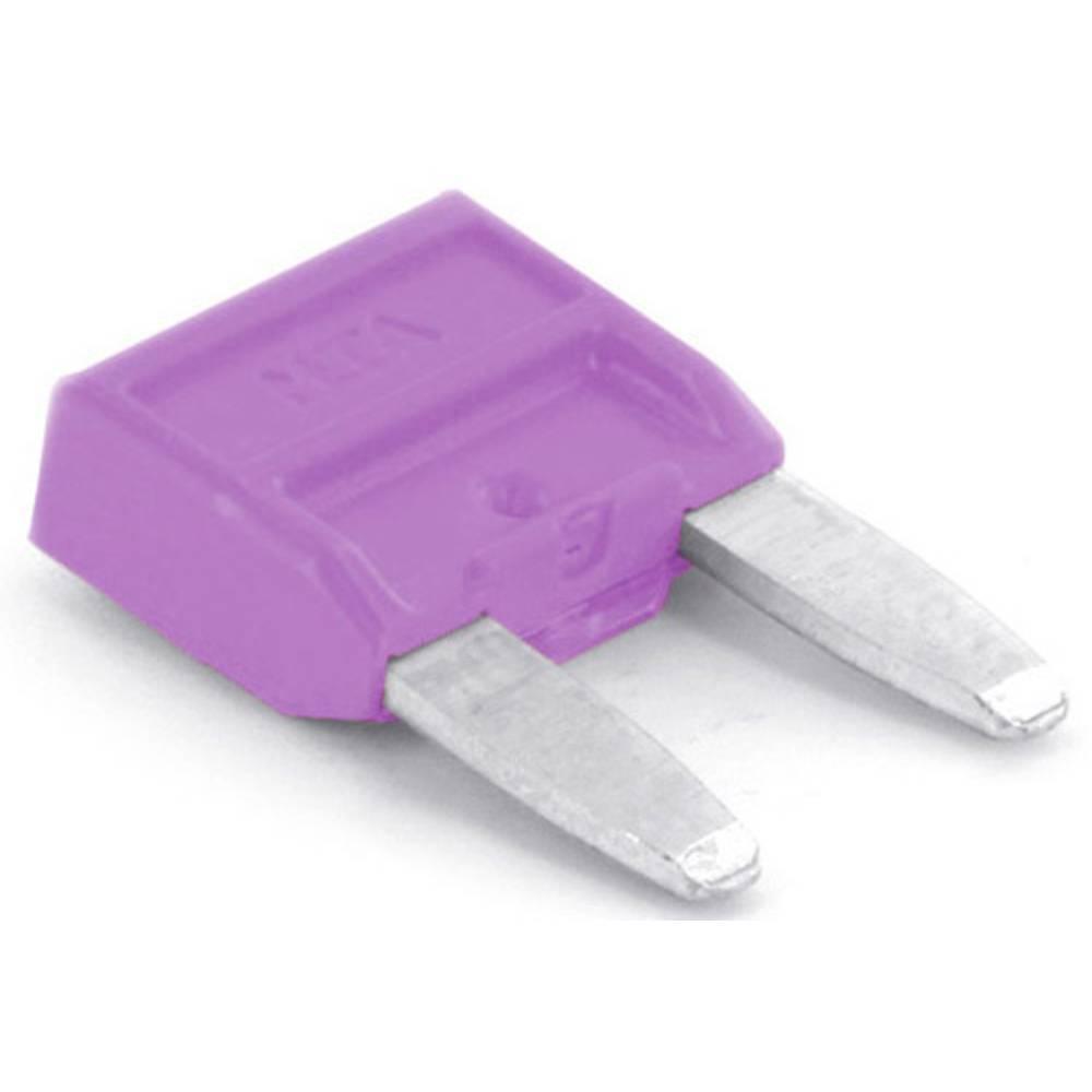 TRU COMPONENTS 8551260 Mini ploščata varovalka za avtomobil 3 A Vijolična 1 KOS