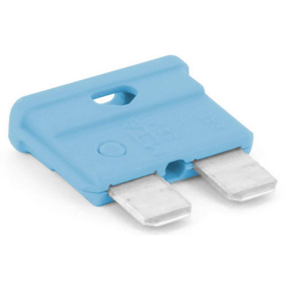 TRU COMPONENTS 8551264 standardna ploščata varovalka za avtomobil 15 A svetlo modra 1 kos