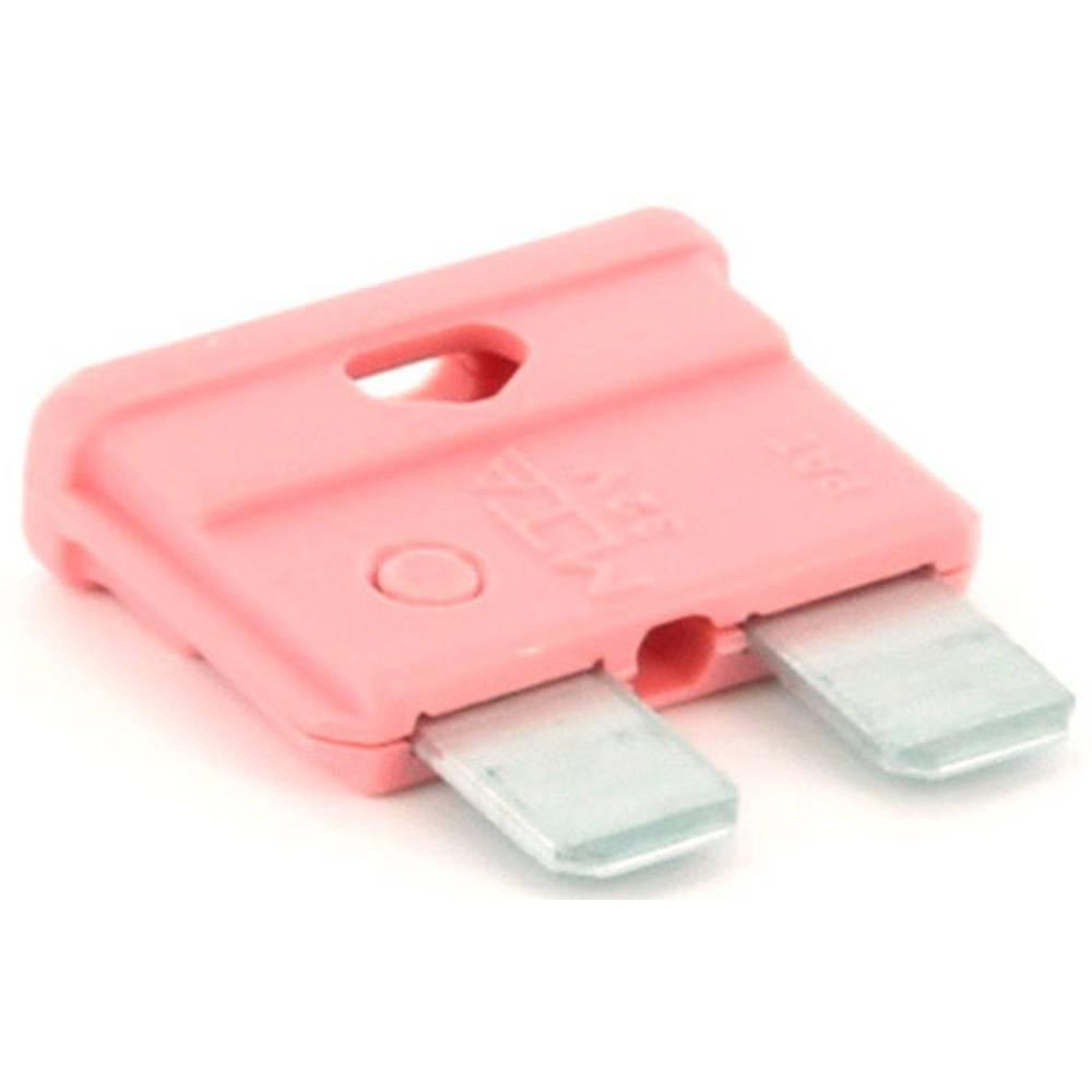 TRU COMPONENTS 8551276 standardna ploščata varovalka za avtomobil 4 A roza 1 kos
