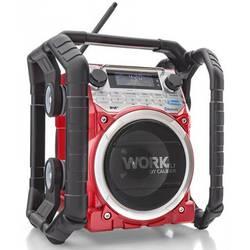 Caliber Audio Technology WORKXL1 radio za gradbišča DAB+, UKW aux, Bluetooth funkcija polnjenja baterije, vodoodporen, odporen n