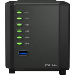 Synology DiskStation DS419slim nas strežnik ohišje 4 Bay