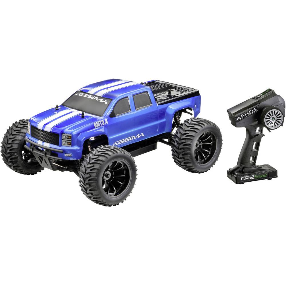 Absima AMT3.4 BL brez ščetk 1:10 RC Modeli avtomobilov Elektro Monster Truck Pogon na vsa kolesa (4WD) RtR 2,4 GHz