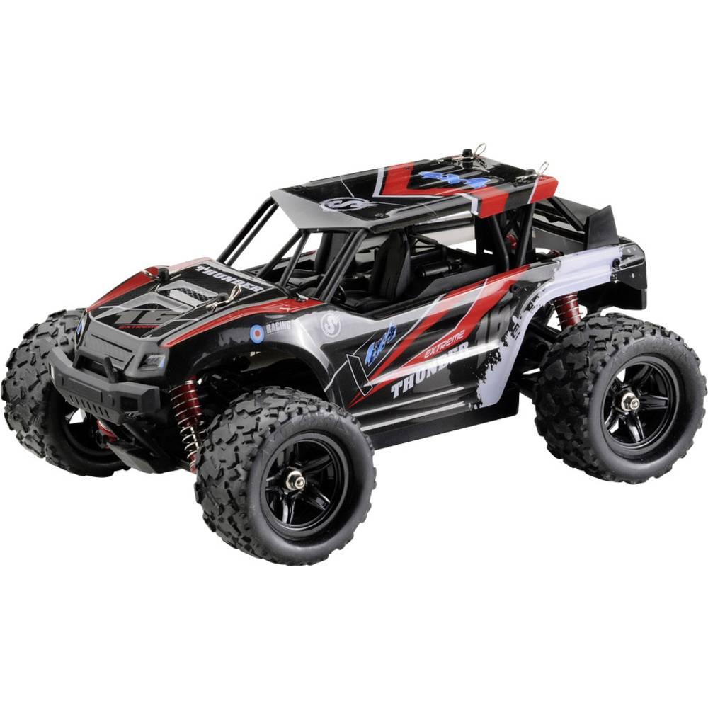 Absima Thunder s ščetkami 1:18 RC Modeli avtomobilov Elektro Buggy Pogon na vsa kolesa (4WD) RtR 2,4 GHz Vklj. akumulator in pol