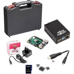 Raspberry Pi® 4 b Advanced Set 4 GB 4 x 1.5 GHz uklj. kutija za pohranu, uklj. napajanje, uklj. noobs os, uklj. HDMI kabel ,