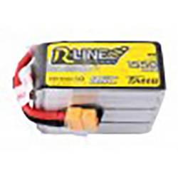 LiPo akumulatorski paket za modele 22.2 V 1550 mAh Broj ćelija: 6 95 C Tattu Softcase XT60