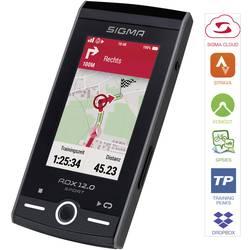 Sigma ROX 12.0 Basic Grau navigacija za kolo kolesarjenje evropa zaščita pred brizganjem vode, gps, glonass
